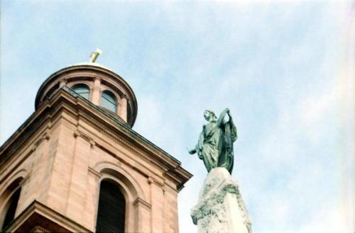 Clio oder Germania an der Paulskirche