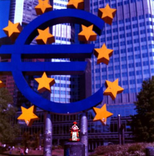 Braut auf Tour 11-Frankfurt am Main Eurotower