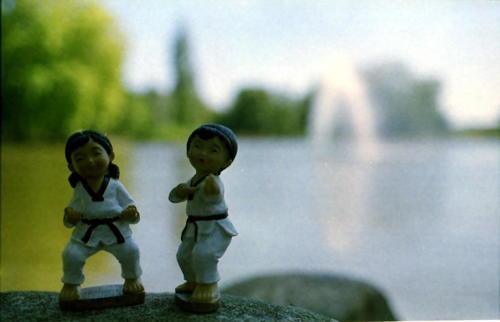 Taekwondo auf Tour 12Stadtpark Höchst