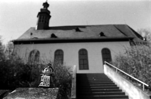 Braut auf Tour 10- Hofheim am Taunus, Bergkapelle