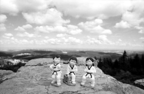 Taekwondo auf Tour7Brunhildefelsen, Großer Feldberg