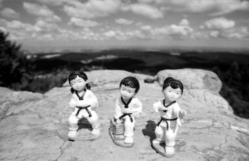 Taekwondo auf Tour8Brunhildefelsen, Großer Feldberg