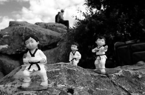 Taekwondo auf Tour5Brunhildefelsen, Großer Feldberg